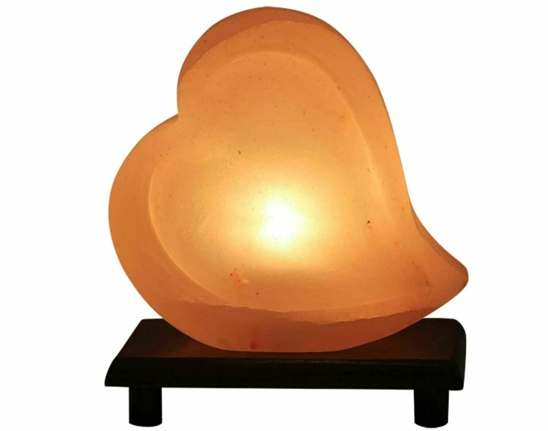 Heart Himalayan Salt Lamp