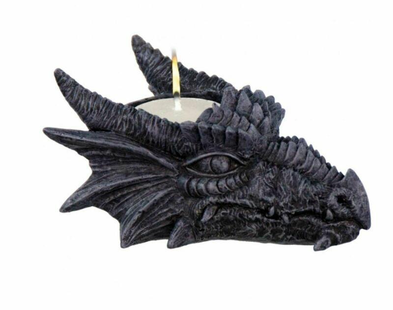 T Light Holder Dragon Head