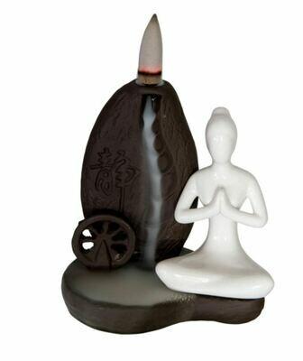 Ceramic Backflow Burner Yoga