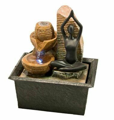 Yoga Light Fountain