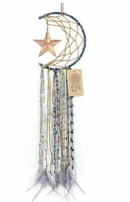 Moon and Star Dream Catcher