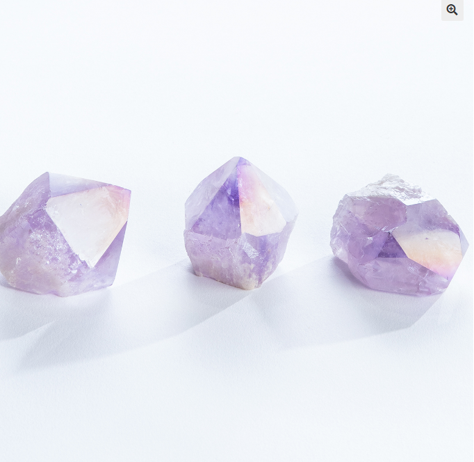 Amethyst Angel Aura Quartz Points