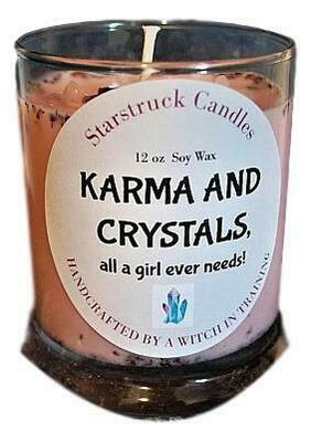 Karma & Crystals Candle