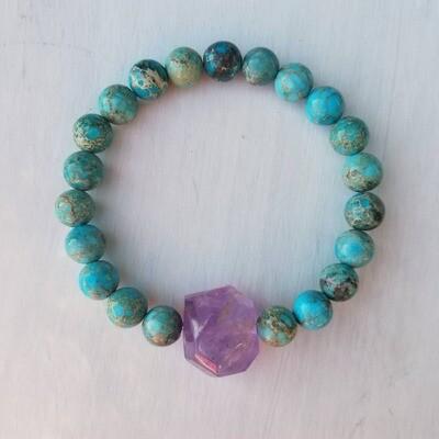 Earth Energy Mind Body Spirit Bracelet