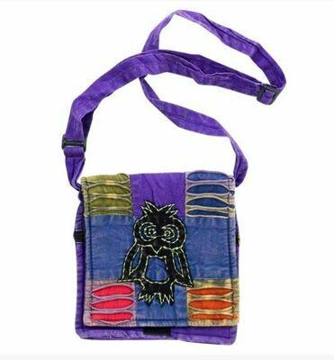 Razor Cut Owl Handbag