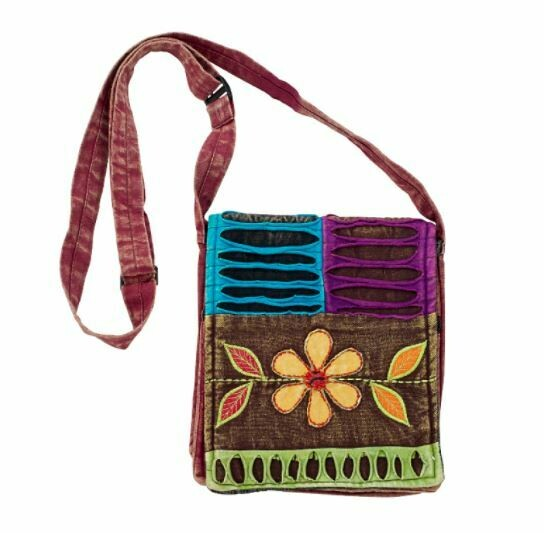 Razor Cut Flower Handbag