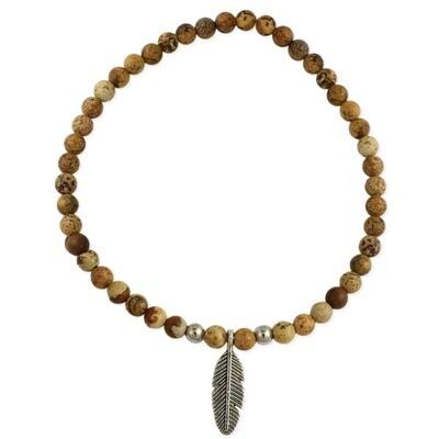 Desert Dreams Feather Gemstone Bracelet
