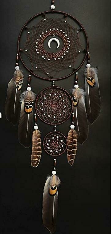Large Howlite Dream Catcher