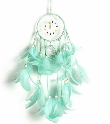 DIY Turquoise Feather Dream Catcher Kit