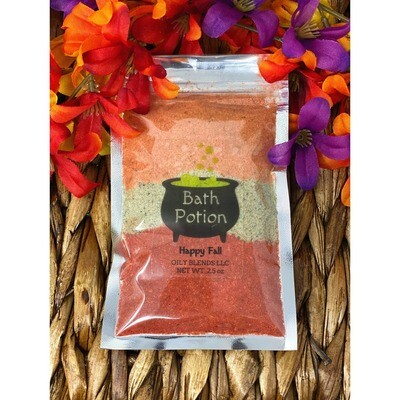 Happy Fall Bath Potion Pack