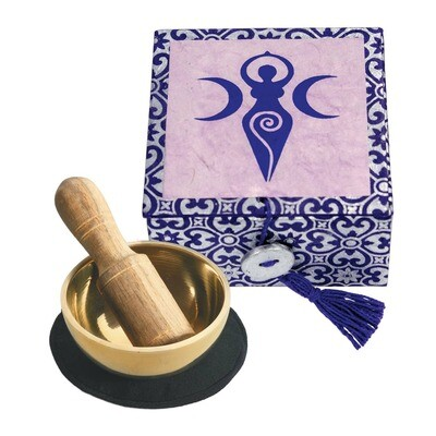 Spiral Goddess Meditation Singing Bowl