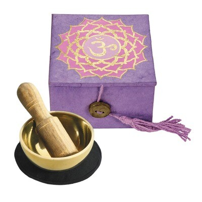 Crown Chakra Meditation Singing Bowl