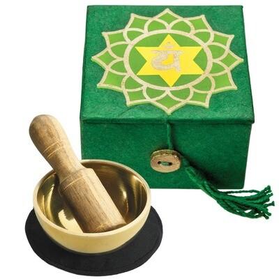 Heart Chakra Meditation Singing Bowl