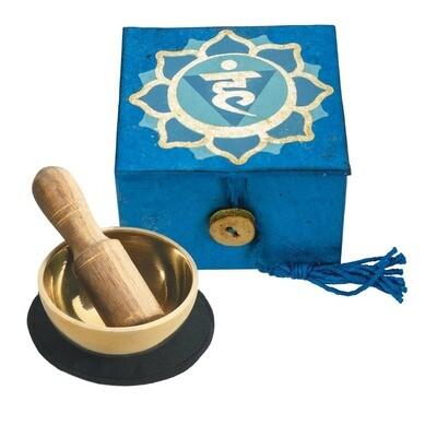 Throat Chakra Meditation Singing Bowl
