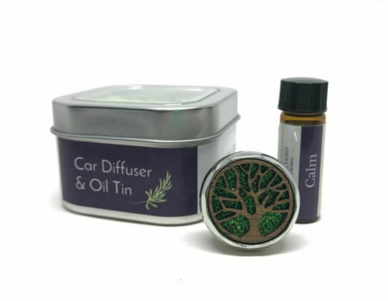 Car Diffuser & Essential Oil Tin
