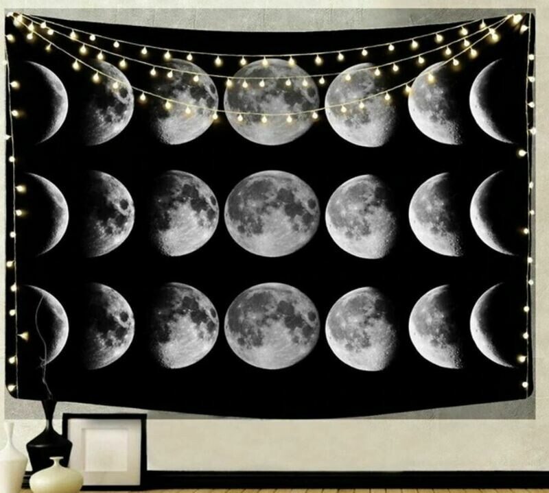 Moon Phases Tapestry 79