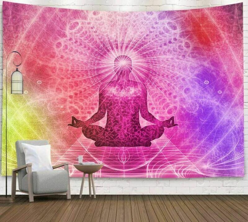 Meditator Bohemian Tapestry 79