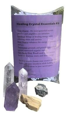 Healing Crystal Essentials Kit