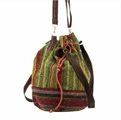 Stonewash Bucket Nepali Bag