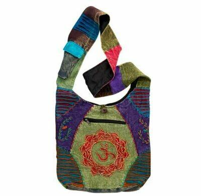 OM Lotus Monk Bag