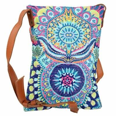 Blue Tone Crossbody Handbag