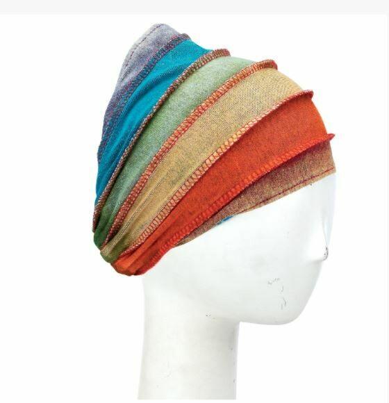 Stonewash Striped Nepali Headband