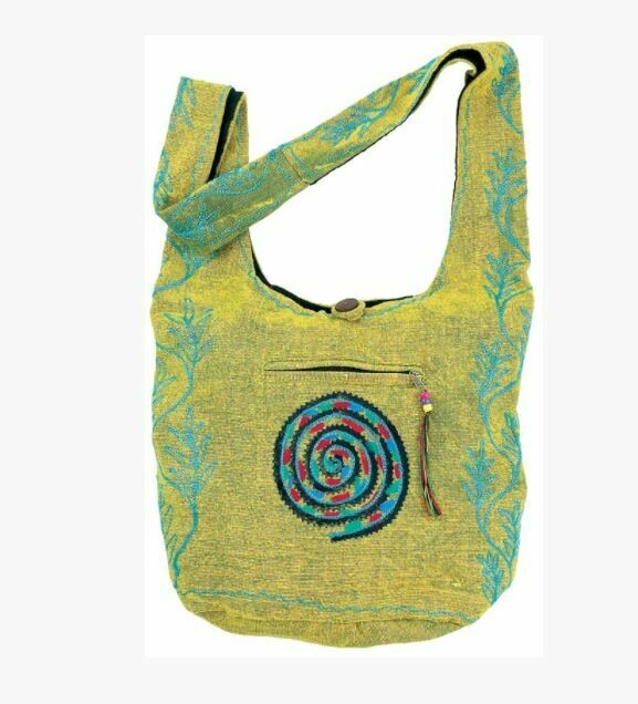 Spiral Monk Bag