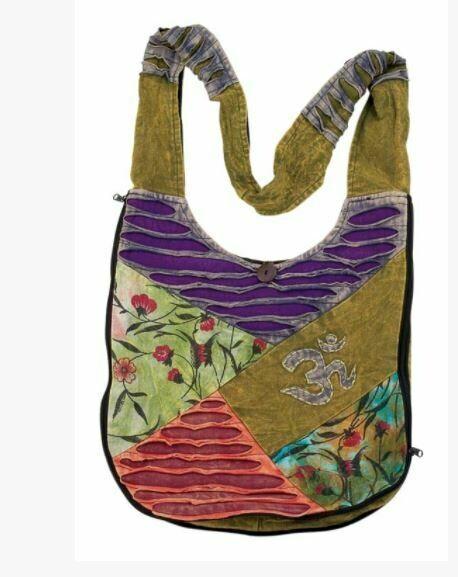 Ribbed Om Monk Bag