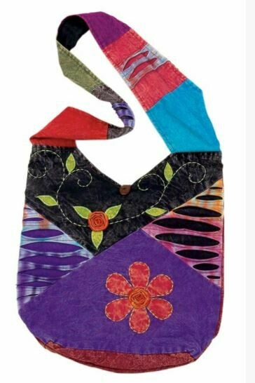 Ribbed Flower Monk Bag