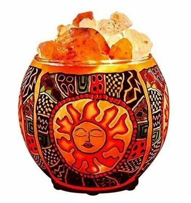 Tribal Sun Salt Lamp Oil Diffuser