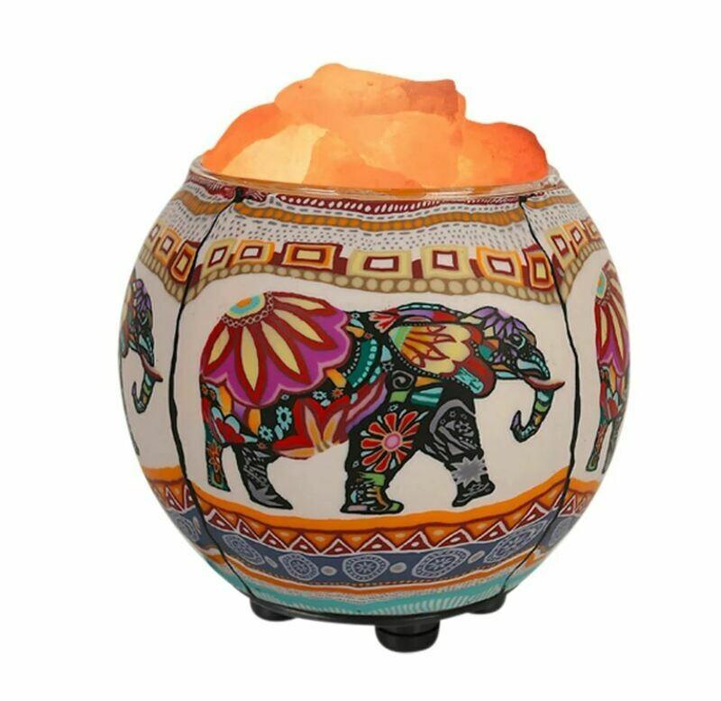 Elephant Salt Lamp Oil Diffuser
