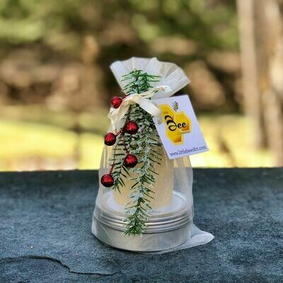 Little Bee of Ct Winter Gift Tower