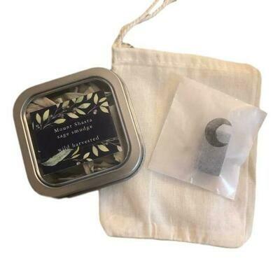 Sage tips Smudge Gift Set