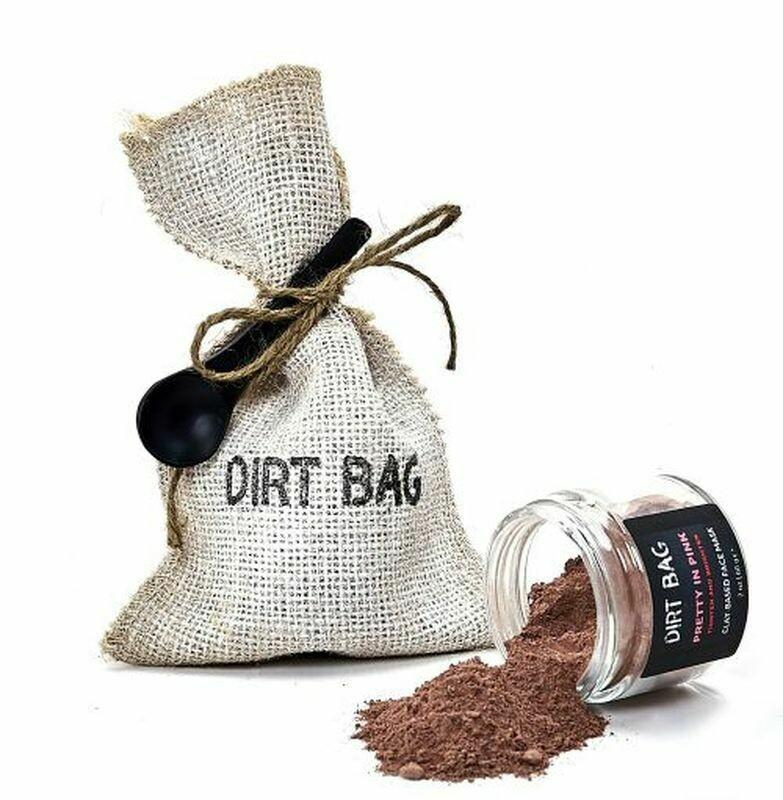 Dirt Bag Pretty in Pink Facial Mask