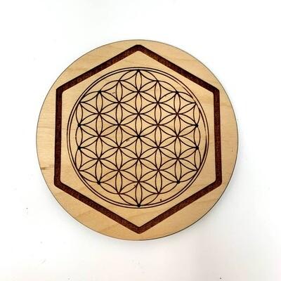 Incense Holder - Flower of Life, Sacred Geometry Design Art