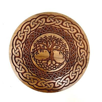 Incense Holder - Celtic Tree of Life