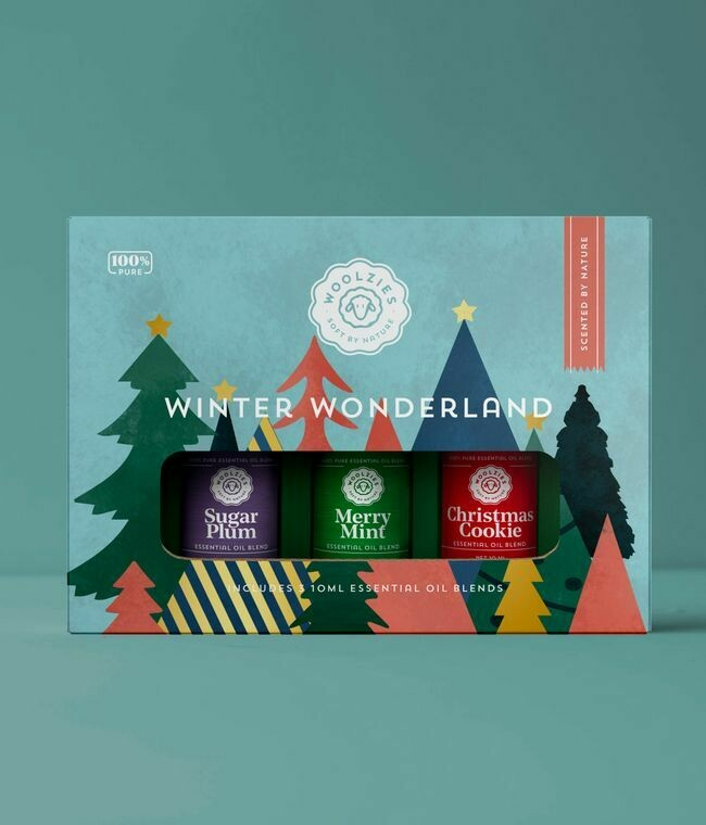 The Winter Wonderland Essential Oil Collection