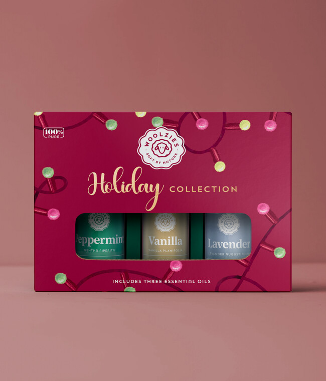 Red Light Holiday Essential Oil Collection