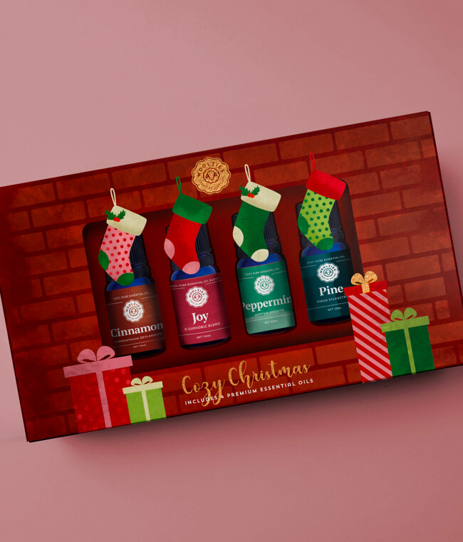 The Cozy Christmas Essential Oil Collection