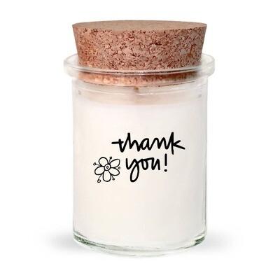 Thank you Candle Lemon Grass & Sage