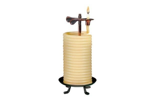80 Hour Beeswax Coil Candle