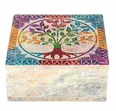Stone Tree of Life Box