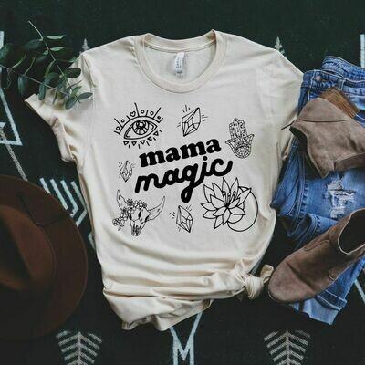 Mama Magic Boho Soft T Shirt