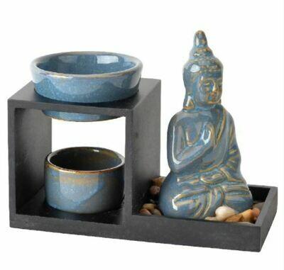 Blue Buddha Ceramic Oil Burner