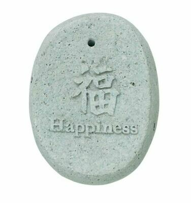 Happiness River Stone Incense Holder