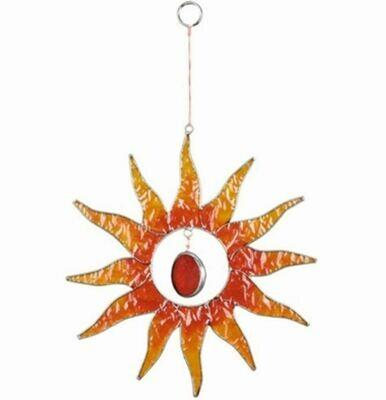 Sun and Glass Nugget Suncatcher 9