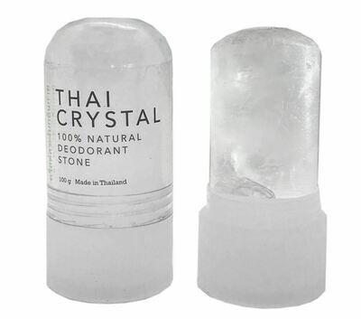 100% Natural Thai Crystal Deodorant Stone