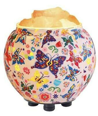 Aromatherapy Salt Lamp Diffuser Butterfies