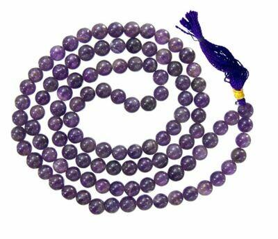 Mala Prayer Beads Amethyst