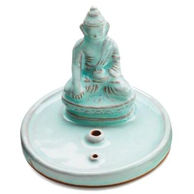 Celadon Buddha Incense Burner